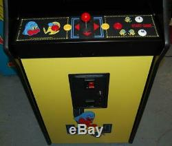 Restauré Pacman Arcade Machine Plays 60 Jeux! Pac Man Multicade