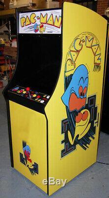 Restauré Pacman Arcade Machine Upgraded Pour Jouer 60 Jeux! Pac-man