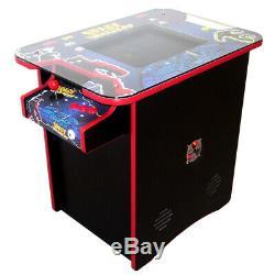Retro Arcade Cocktail Table Arcade Machine 400 Jeux Rétro Space Invader