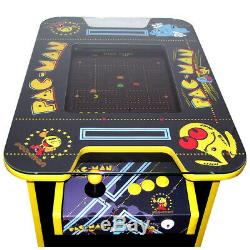 Retro Arcade Cocktail Table Arcade Machine 60 Jeux D'arcade Pac Man Themed