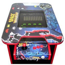 Retro Arcade Cocktail Table Machine 60 Jeux D'arcade Space Invader Theme