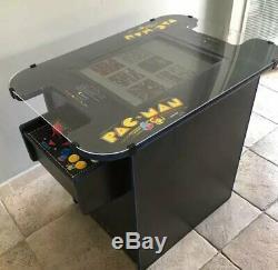 Retro Cocktail Arcade Machine Avec 21 Grand Écran Et 412 Jeux Classiques Glass