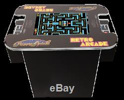 Retro Cocktail Arcade Machine Avec 60 Jeux Mme Pac-man, Galaga, Donkey Kong