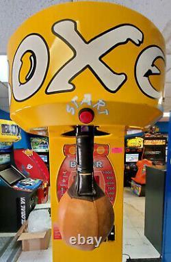 Sac Jaune Boxer Poinçonneuse Pleine Grandeur Arcade Machine Jeu (play Magique)