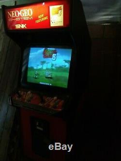 Sammy Atomiswave Jeu Metal Slug 6 Machine D'arcade Avec Hi Res 27 Moniteur