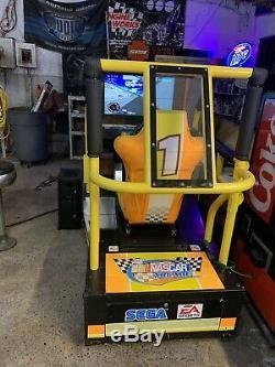 Sega Driving Deluxe Nascar Racing Simulator Jeu Arcade Machine