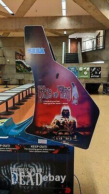 Sega House Of The Dead 1 Standard Arcade Armoire Machine Utilisée