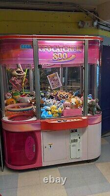 Sega Ufo Capteur 800 Arcade Crane Claw Machine Utilisée