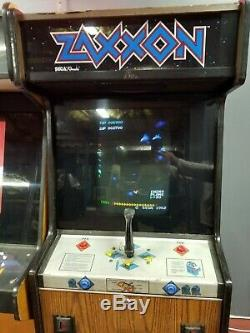 Sega Zaxxon Arcade Machine Jeu Jeux Great