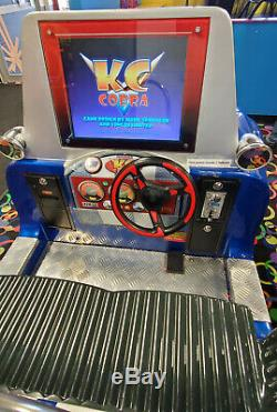 Shelby Cobra Interactive Arcade Jeu Vidéo Simulator Kiddie Ride Machine De Travail