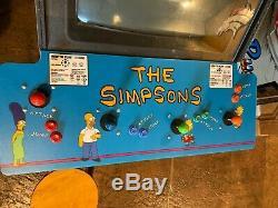 Simpsons 4 Joueur Arcade Machine