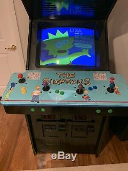 Simpsons Video Arcade Machine