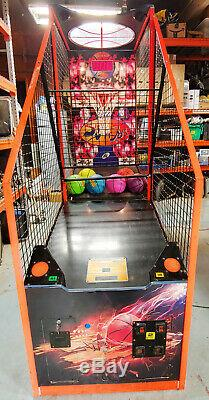 Slam Jam N Ial Basketball Arcade Game Machine! Balles Neuves Inclus 2 # Travaux Grands