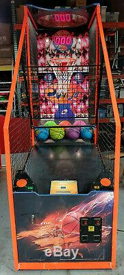 Slam Jam N Ial Basketball Arcade Game Machine! Balles Neuves Inclus! Fonctionne Très Bien