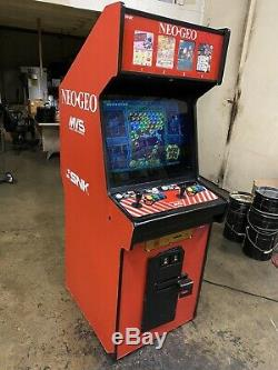 Snk Neo Geo 4 Slot Puzzle Bubble Metal Slug Arcade Video Kof Game Machine