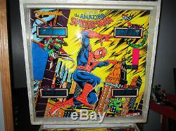 Spiderman Amazing Flipper Gottlieb 1980 (custom Led Et Excellent)