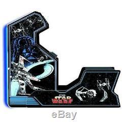 Star Wars Arcade1up Accueil Jeux Cabinet Machine Avec Matching Riser Banquette