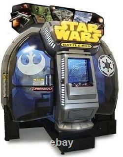 Star Wars Battle Pod Arcade Machine Par Namco 2015 (excellent État)