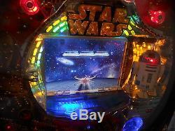 Star Wars Pachinko Machine 2006 Sankyo R2d2 Japonais Fente Jeu D'arcade