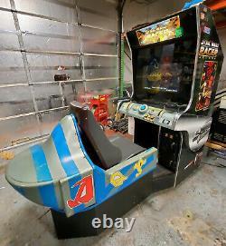 Star Wars Pod Racer Arcade Racing Driving Video Game Machine Fonctionne Très Bien! LCD