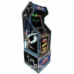 Star Wars Retro Arcade1up Accueil Cabinet Machine Avec Mesure Riser Light Up Marquee