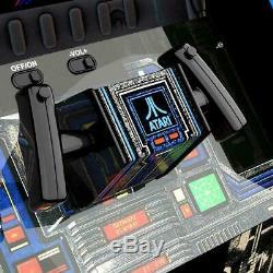 Star Wars Retro Arcade1up Accueil Cabinet Machine Avec Mesure Riser Light-up Marquee