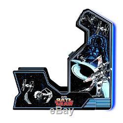 Star Wars Retro Arcade Game Accueil Cabinet Machine Avec Chaise Coussinée Jeux De Siège
