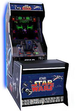 Star Wars Retro Arcade Jeu Home Cabinet Machine Avec Coussined Chair Seat Jeux