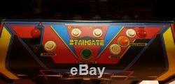 Stargate Vintage Defender Originale Williams Classic Arcade Machine Très Propre
