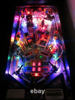 Starship Troopers Arcade Flipper Machine Sega 1997 (custom Led Excellent)