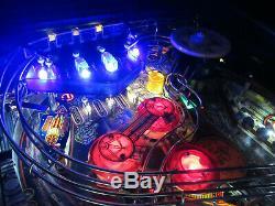 Station Spatiale Arcade Pinball Machine Williams 1987 (led Sur Mesure)