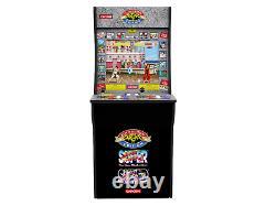 Street Fighter 2 Arcade1up Rétro Machine De Jeu Vidéo 4ft 3 En 1 Arcade