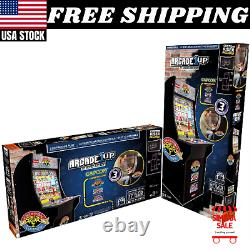 Street Fighter 2 Arcade1up Retro Video Game Machine 17 LCD 3in1 Arcade Avec Riser