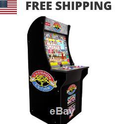 Street Fighter 2 Arcade Machine Rétro D'illustrations Originales Cabinet 3 Jeux LCD Nouveau