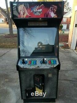 Street Fighter Alpha Arcade Game Machine