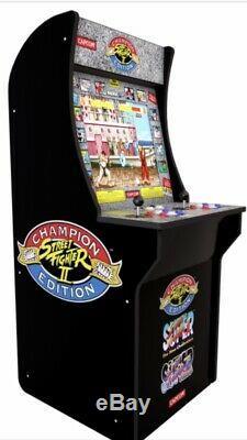 Street Fighter II 2 Joueur 4 Pieds Bâton De Joie Arcade Machine Jeux Électroniques