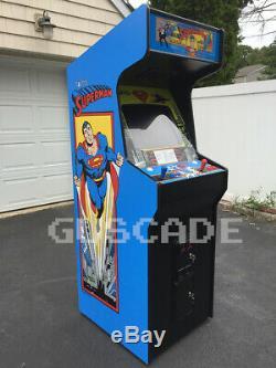 Superman Arcade Machine Nouveau Full Size Lit Beaucoup Classics Super Man Guscade
