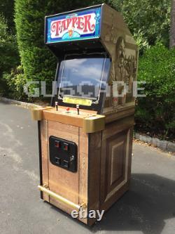 Tapper Arcade Machine Full Size Jeu Vidéo New Coinop Beer Budweiser Guscade