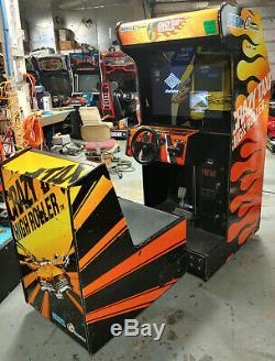 Taxi Flambeur Fou Arcade Assis Driving Arcade Video Game Machine! LCD