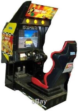 Taxi Machine Arcade Fou Par Sega 1999 (excellent État) Rare