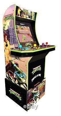 Teenage Mutant Ninja Turtles Arcade Machine Avec Riser, Arcade1up