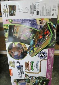 Teenage Mutant Ninja Turtles Arcade Machine Avec Riser, Arcade1up Retro Exclusive