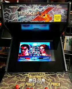 Tekken 4 Pleine Fighting Arcade Jeu Vidéo Machine Avec 22 Moniteur LCD