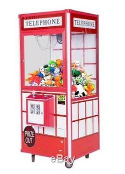 Téléphone 33 Grue Prix Claw Machine Arcade Machine Redemption Avec Dba