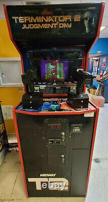 Terminator 2 Judgment Day 2 Player Shooting Arcade Video Game Machine! T2#1 (t2#1)