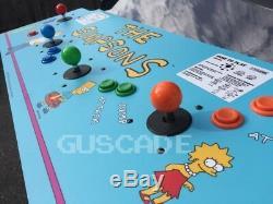 The Simpsons Arcade Game Machine À 4 Joueurs Ovr 1100 Classics Nouveau Guscade