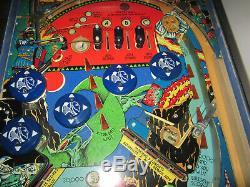 Time Warp Arcade Pinball Machine Par Williams 1979 (custom Led Et Excellent)