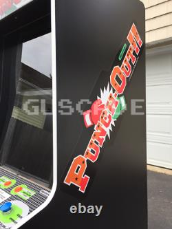 Tire-toi! Arcade Machine New Full Size Nintendo Punch Out Double Écran Guscade