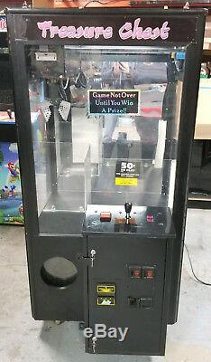 Treasure Chest Compétence Courte Griffe De Grue En Peluche / Canard / Bonbons Arcade Machine C3
