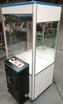 Treasure Chest Compétence Courte Griffe De Grue En Peluche / Canard / Bonbons Arcade Machine White2